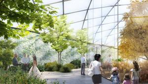 'Living Nature': Salone del Mobile Milano CRA-Carlo Ratti Associati unveil the garden that uses energy flow control to allow spring, summer, autumn and winter to coexist at the same time