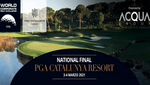 Acqua Group National Sponsor del World Corporate Golf Challenge Italy