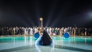 Opening gala per il lancio del nuovo Bulgari Resort Dubai. Firma FeelRouge Worldwide Shows