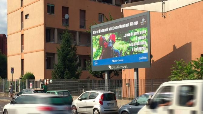 Clear Channel con Dynamo Camp per la campagna corporate charity