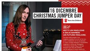 Ogilvy & Mather Advertising,  Save the Children e Manuel Agnelli regalano un sorriso per il Christmas Jumper Day