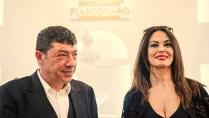 Le colombe Fiasconaro volano a Hollywood con Maria Grazia Cucinotta per la cena di gala del 'Los Angeles Italia, Film, Fashion and Art'