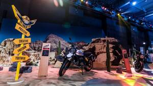 Vok Dams presents the world of Ducati Scrambler to China