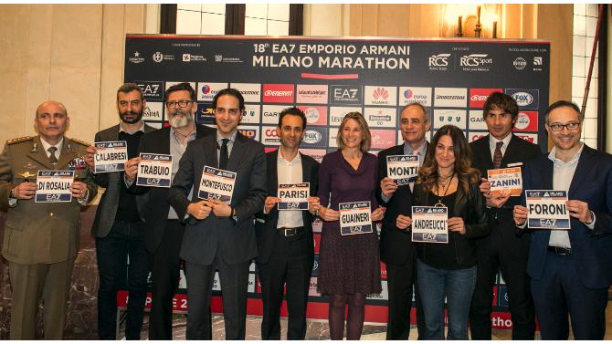 Tutto pronto per l EA7 Emporio Armani Milano Marathon di domenica 8 ... 05b01808e3f