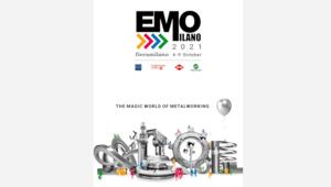 "TakeGroup realizza la creatività per EMO Milano 2021 all'insegna di ""The magic world of metalworking"""