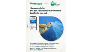 Triboo: con l'Out Of Office di GreenStyle basta un'email per sostenere l'ambiente