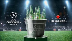 Heineken: per la campagna della Champions League una tagline diversa da 'Better together'