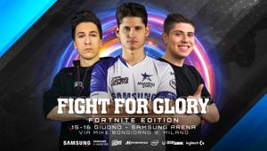 Samsung annuncia la nuova edizione di Fight for Glory interamente dedicata a Fortnite