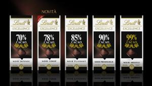 Lindt Italia in tv dal 21 gennaio con lo spot Lindt Excellence. Firma Arnold Worldwide Italy
