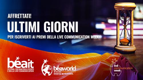 Live Communication Week. Iscrizioni