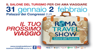 È on air la campagna della prima edizione di Roma Travel Show. Firma Condesign