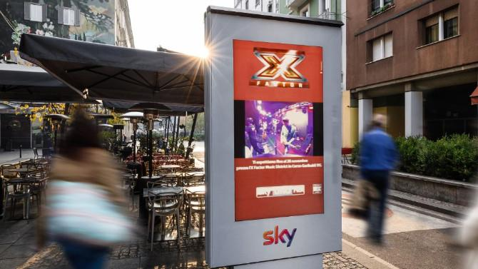 Sky in diretta streaming con Clear Channel per X Factor Music District su progetto di Kinetic