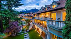 Villa Eden Leading Park Retreat di Merano entra a far parte di Small Luxury Hotels